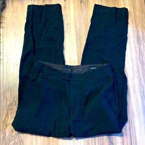 Black Clairborne Silk blend dress pants